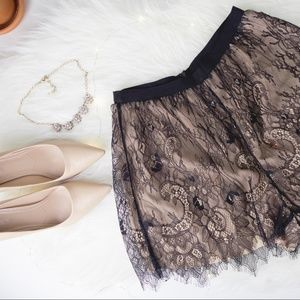 KEEPSAKE - Above Water Lace Shorts